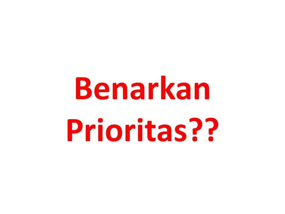Benarkan Prioritas