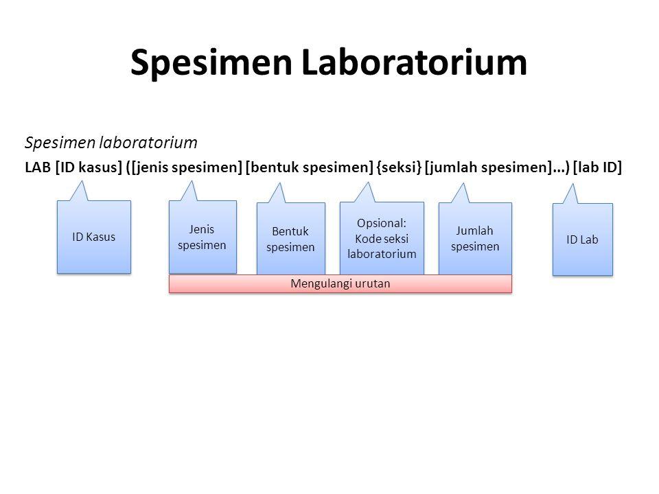 Spesimen Laboratorium