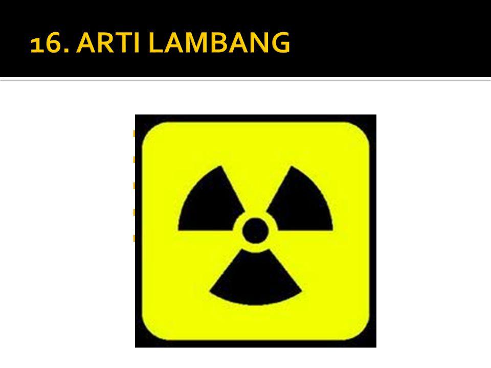 16. ARTI LAMBANG A. Kipas Angin B. Kincir Angin C. Udara Panas