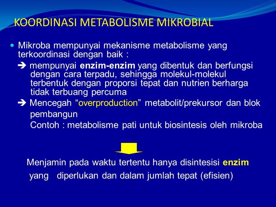 KOORDINASI METABOLISME MIKROBIAL