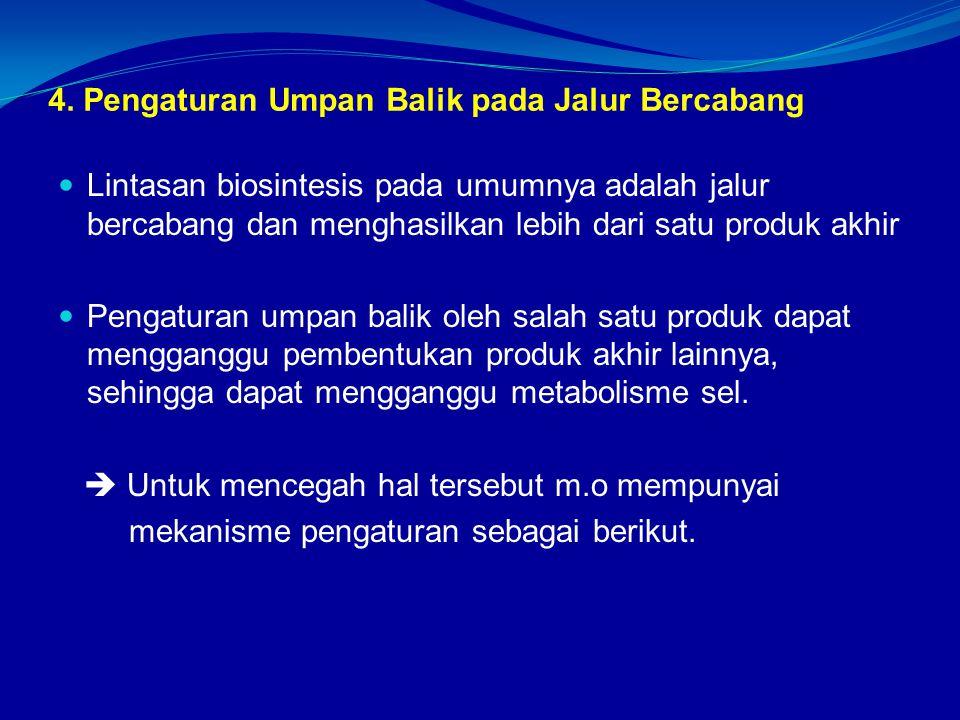 4. Pengaturan Umpan Balik pada Jalur Bercabang