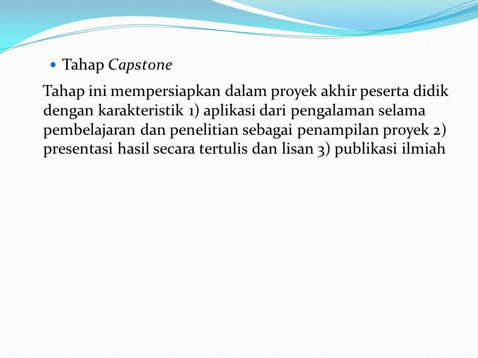 Tahap Capstone