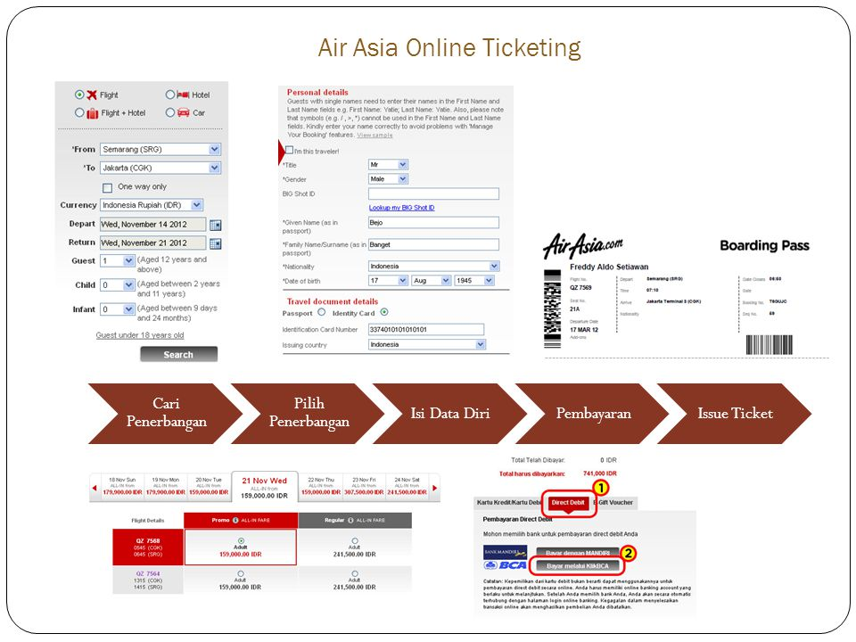 Air Asia Online Ticketing