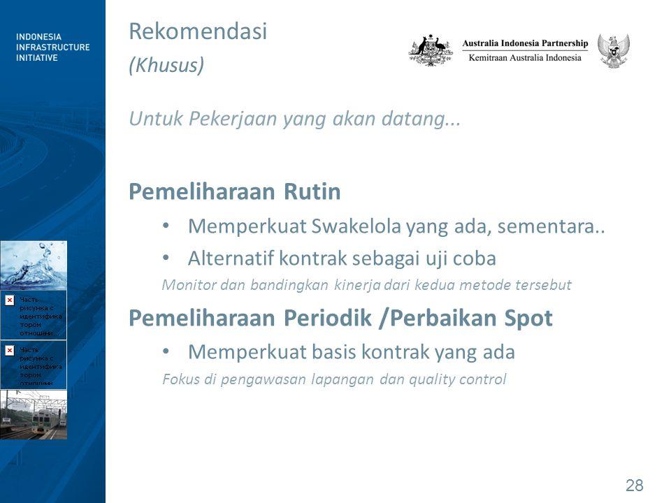 Pemeliharaan Periodik /Perbaikan Spot