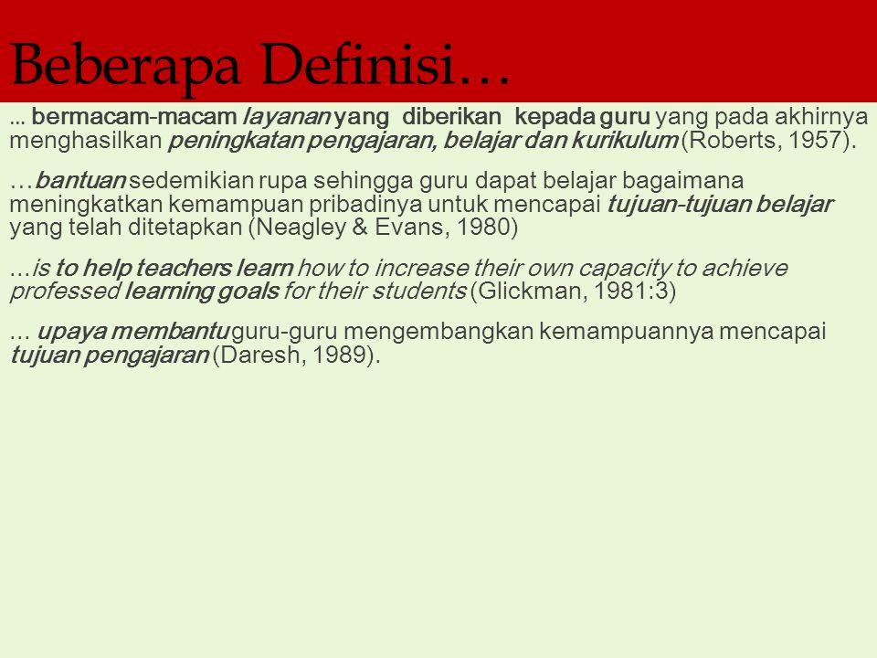 Beberapa Definisi…