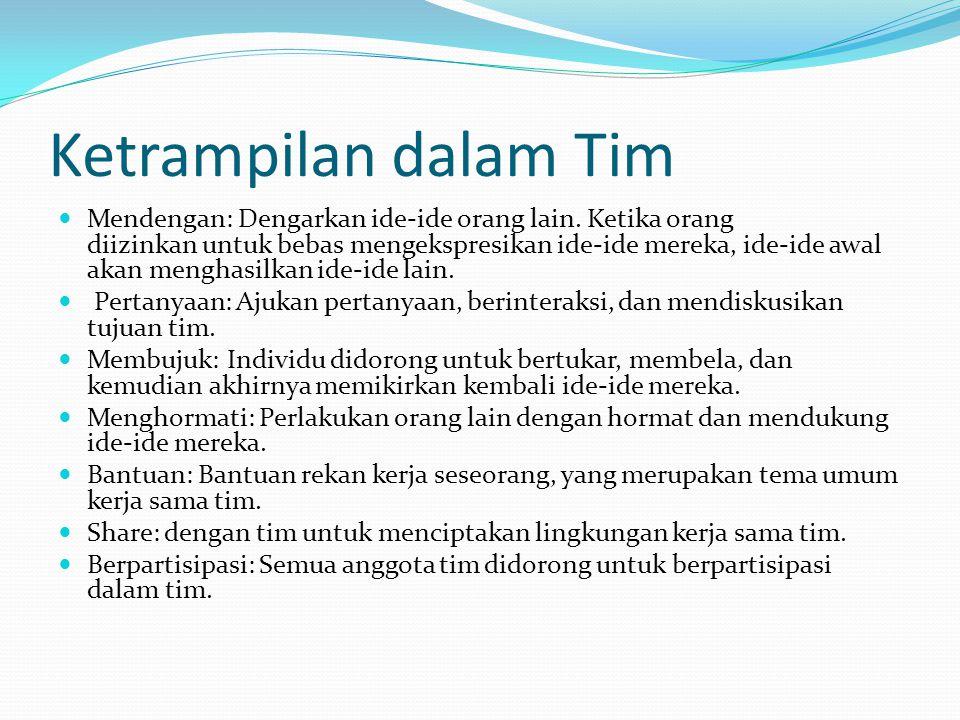 Ketrampilan dalam Tim
