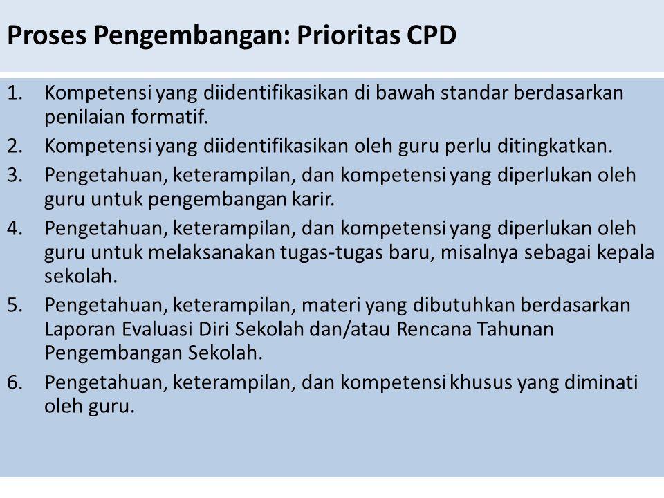 Proses Pengembangan: Prioritas CPD