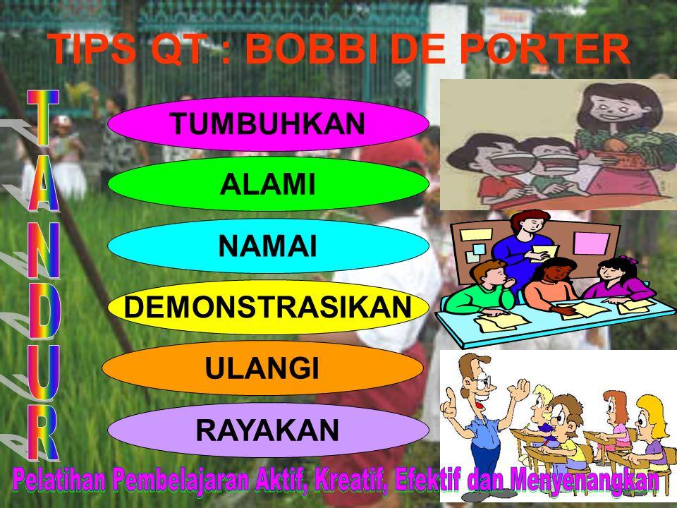 TIPS QT : BOBBI DE PORTER