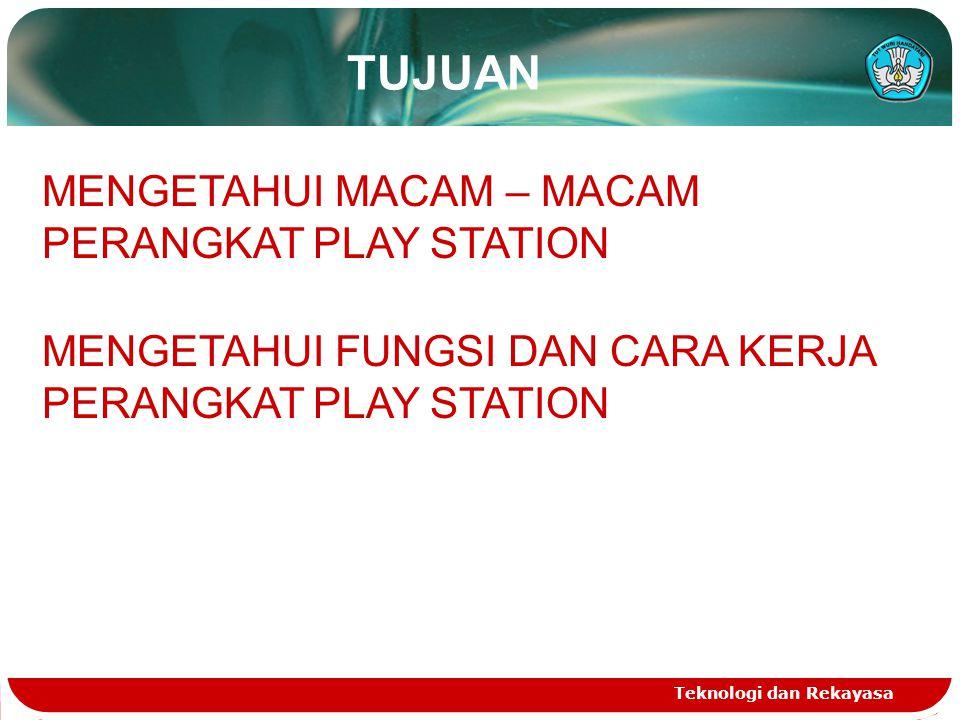 TUJUAN MENGETAHUI MACAM – MACAM PERANGKAT PLAY STATION