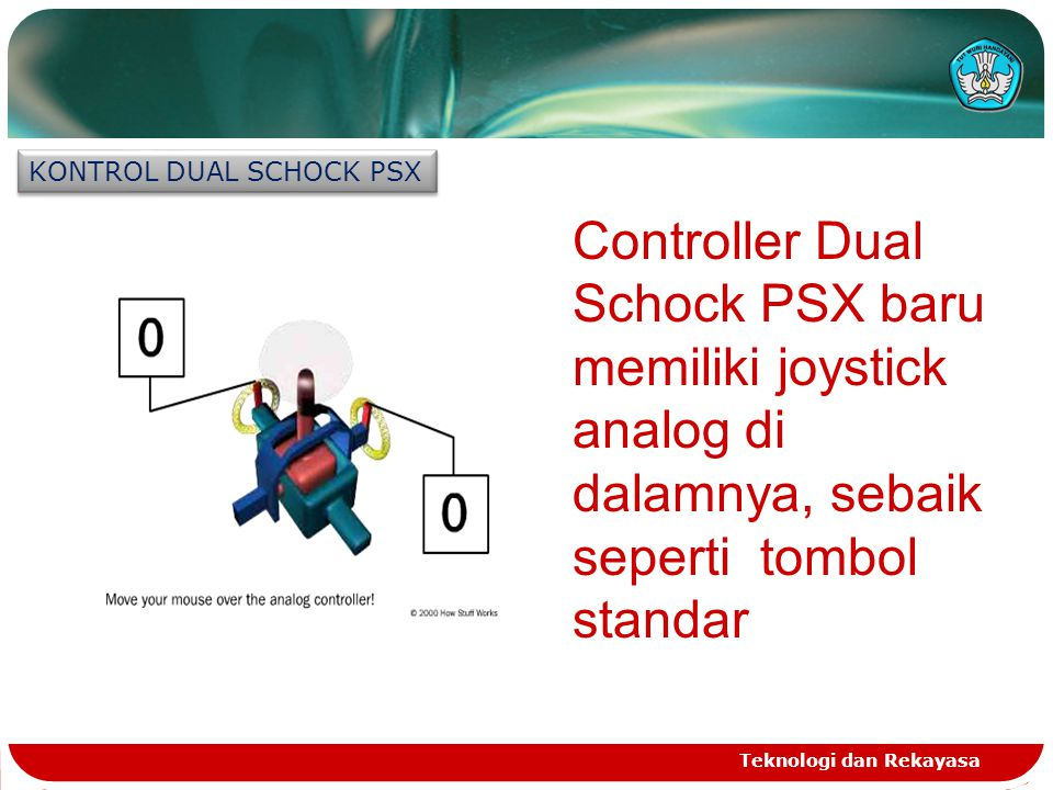 KONTROL DUAL SCHOCK PSX