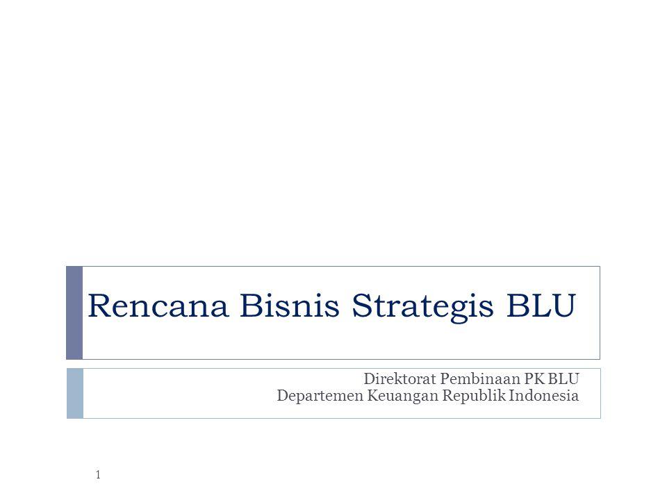 Rencana Bisnis Strategis BLU