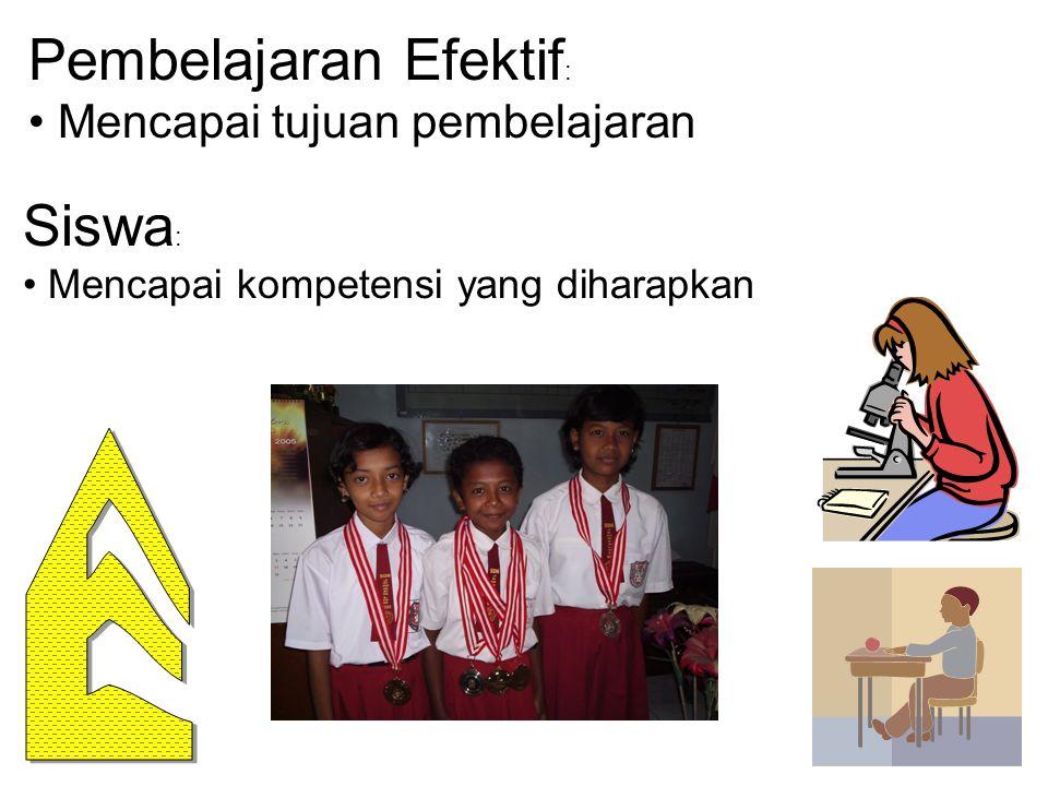 Pembelajaran Efektif: