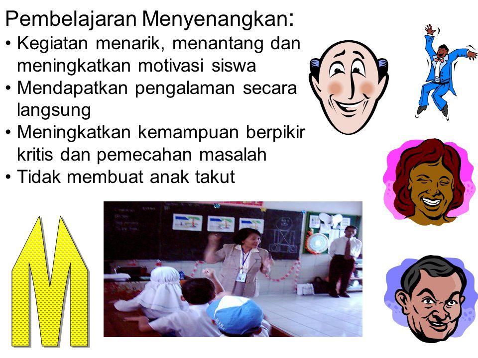 M Pembelajaran Menyenangkan: