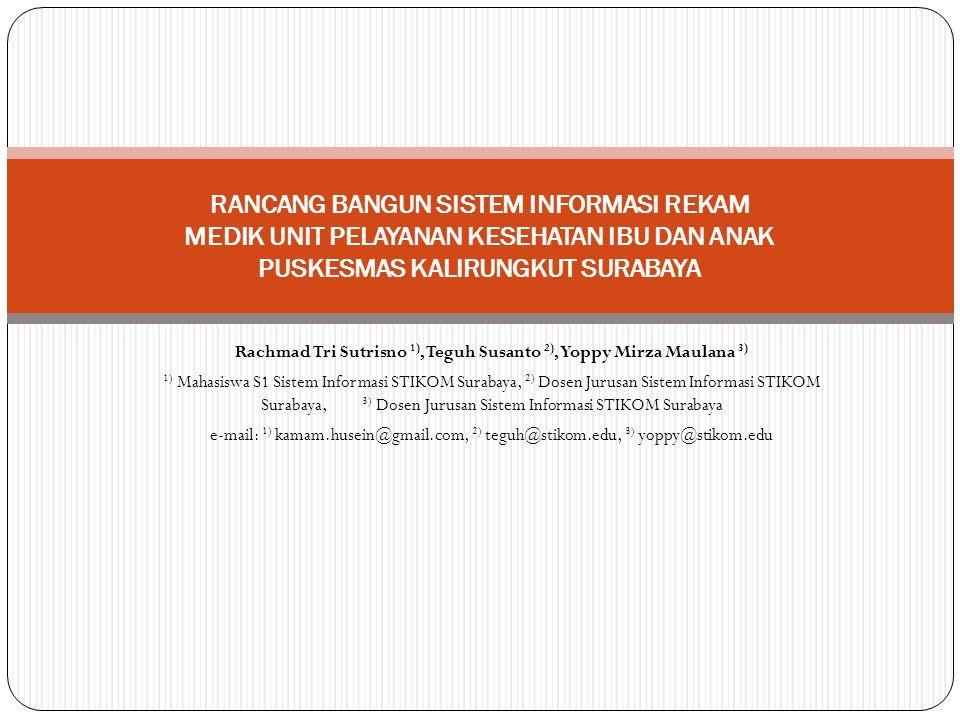 Rachmad Tri Sutrisno 1), Teguh Susanto 2), Yoppy Mirza Maulana 3)