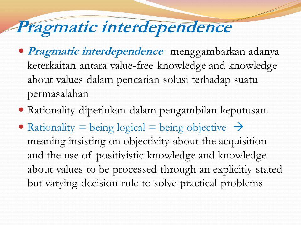 Pragmatic interdependence