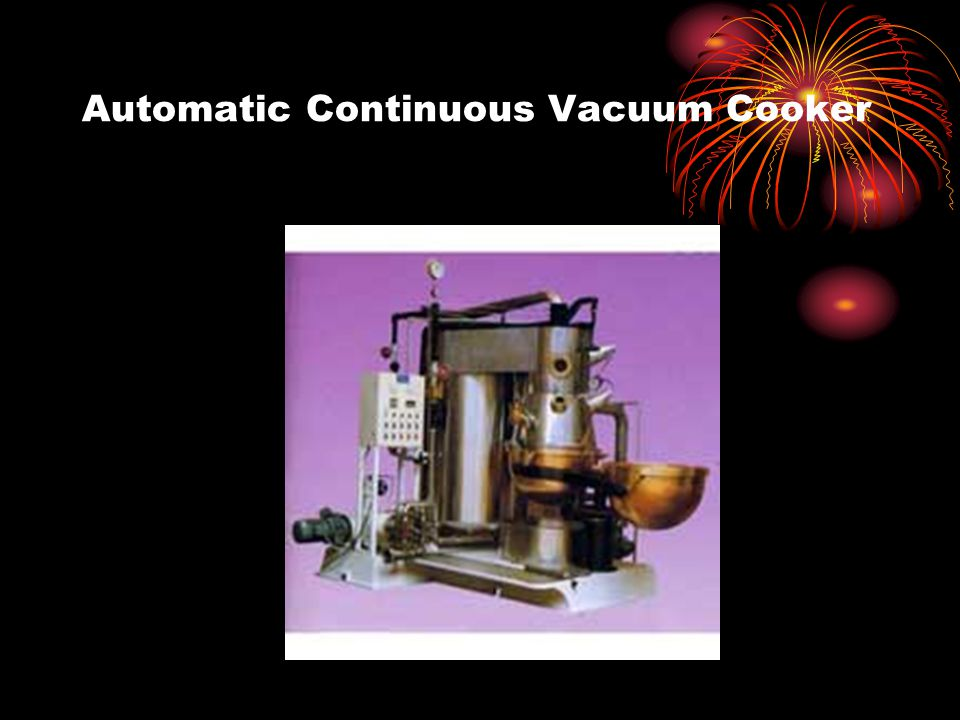 Automatic Continuous Vacuum Cooker