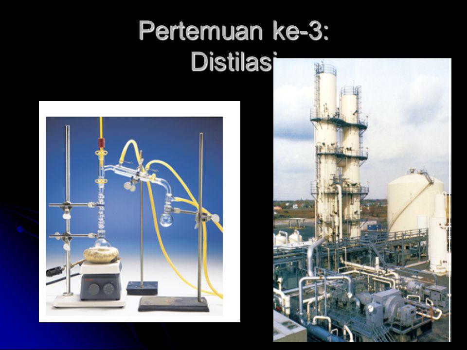 Pertemuan ke-3: Distilasi