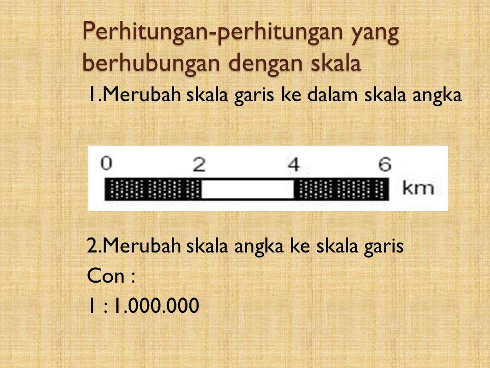 Perhitungan-perhitungan yang berhubungan dengan skala