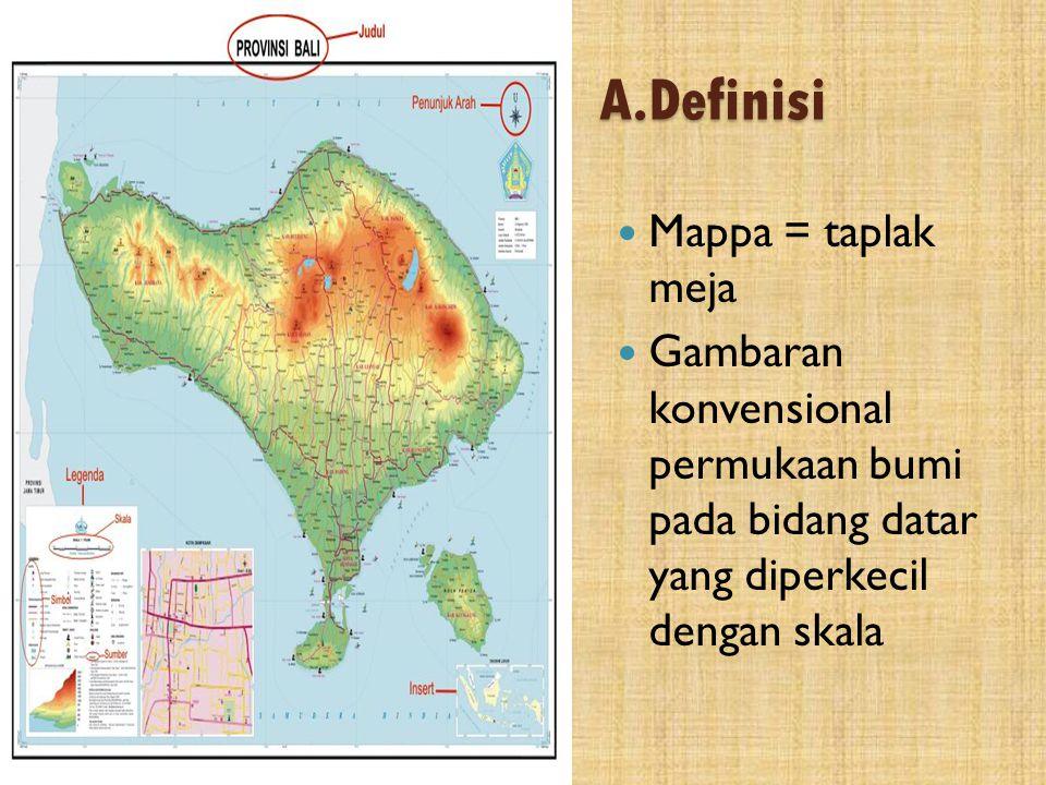 A.Definisi Mappa = taplak meja