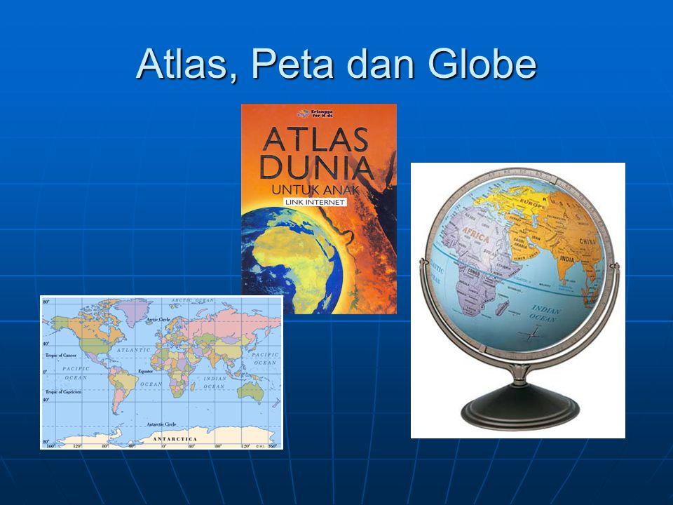 Atlas, Peta dan Globe