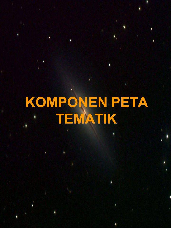 KOMPONEN PETA TEMATIK