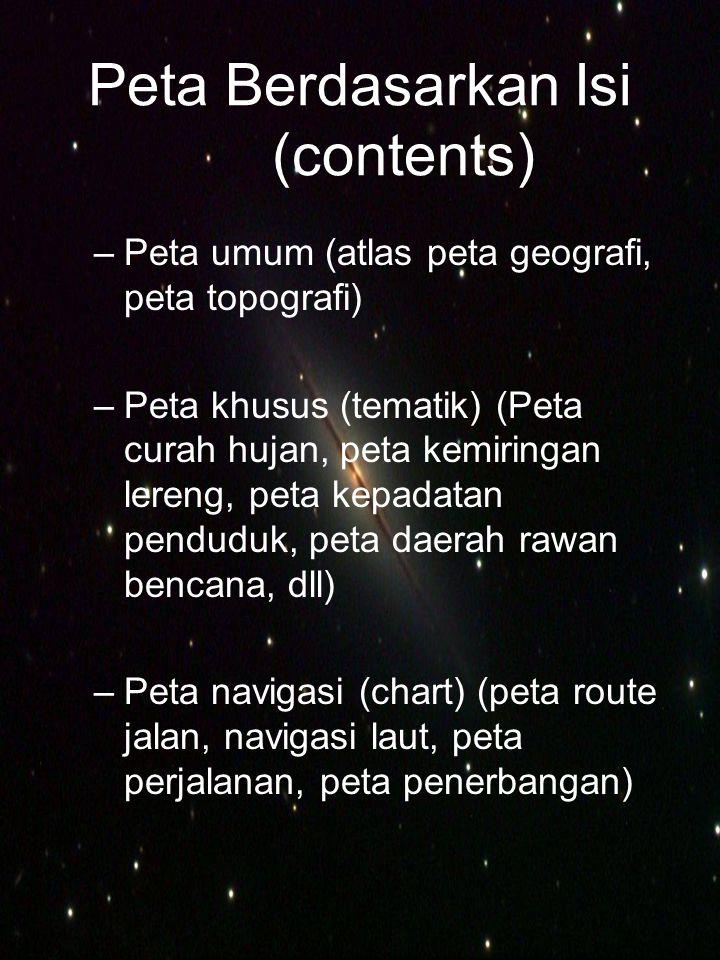 Peta Berdasarkan Isi (contents)