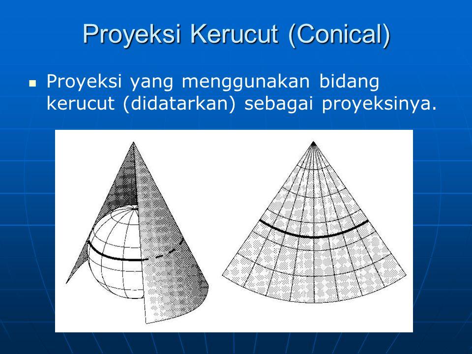 Proyeksi Kerucut (Conical)
