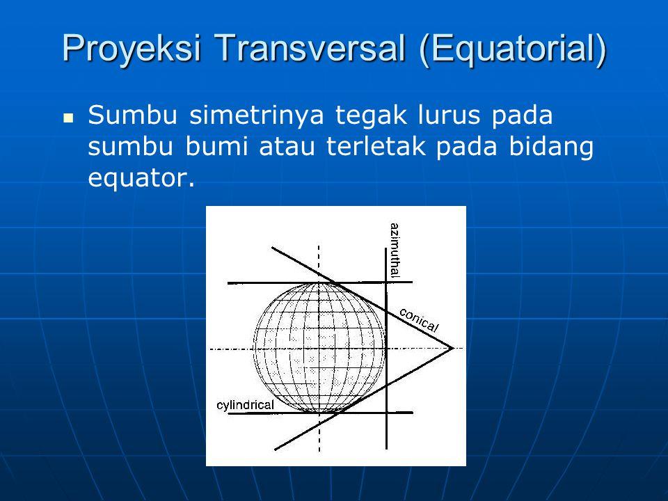 Proyeksi Transversal (Equatorial)