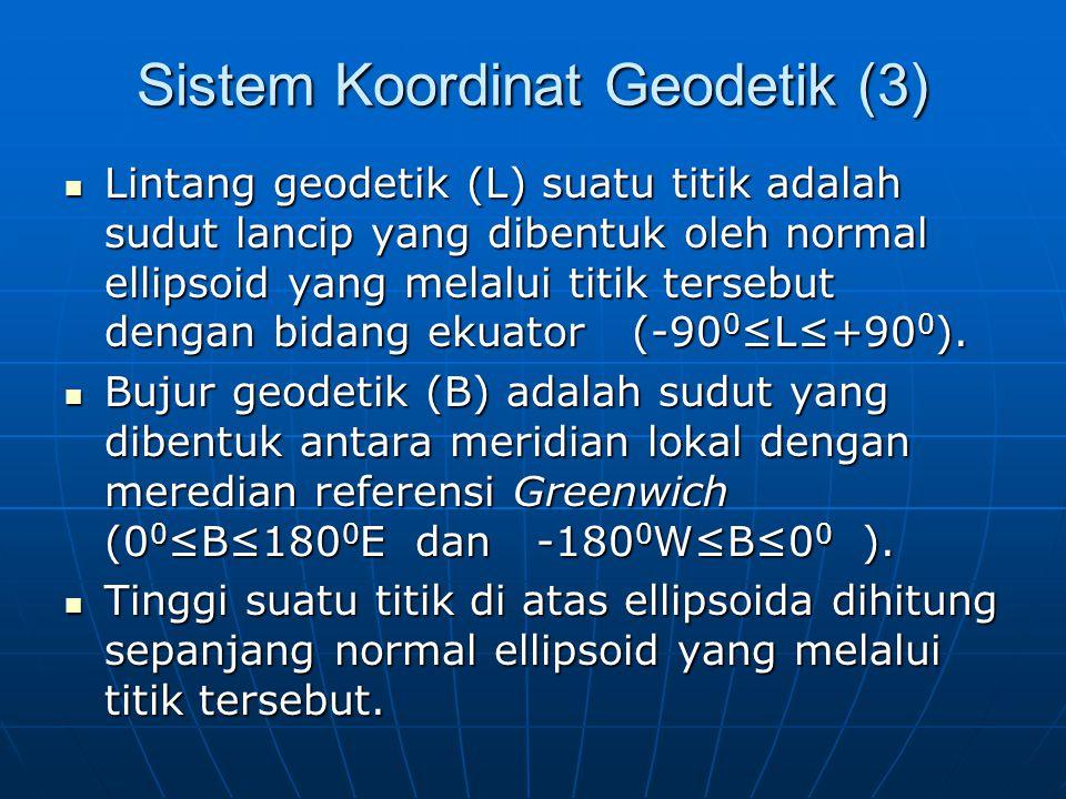 Sistem Koordinat Geodetik (3)