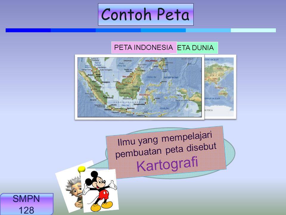 Contoh Peta Tahukah kamu ilmu yang mempelajari pembuatan peta