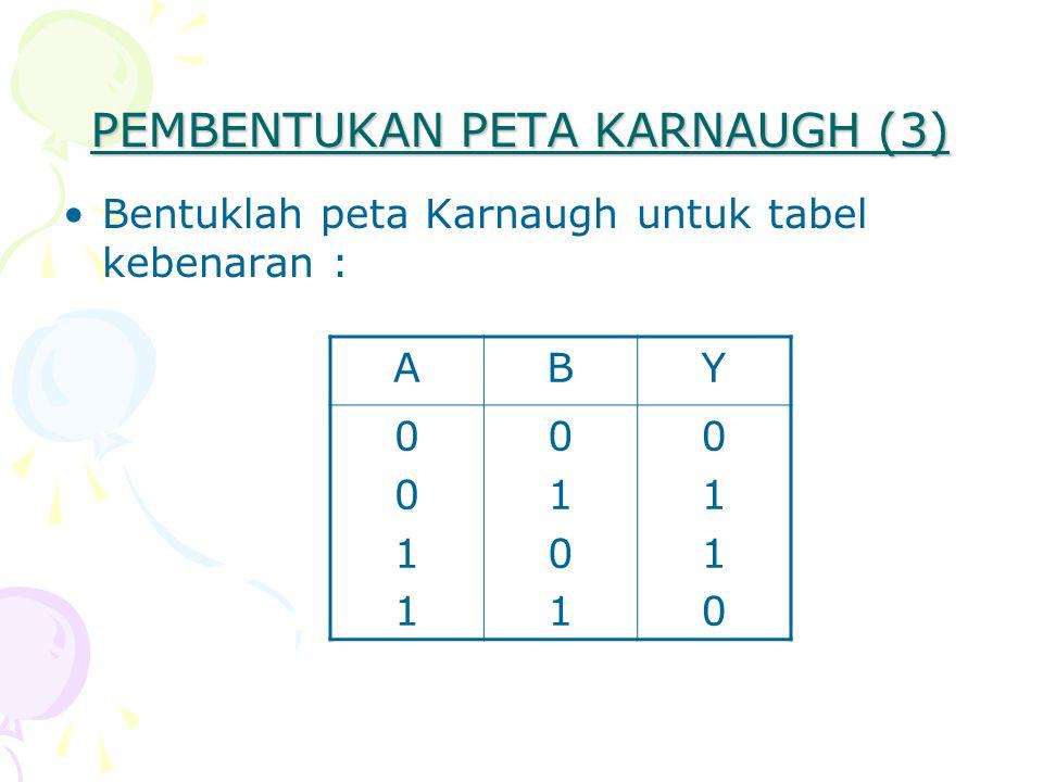 PEMBENTUKAN PETA KARNAUGH (3)