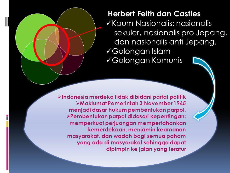Herbert Feith dan Castles Kaum Nasionalis: nasionalis