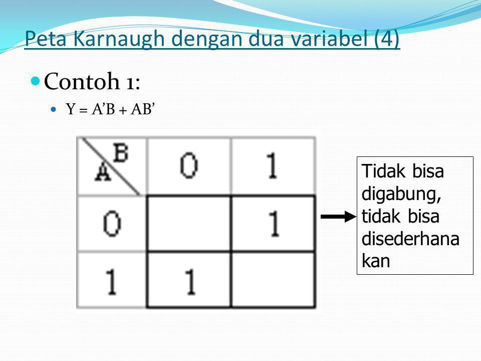 Peta Karnaugh dengan dua variabel (4)