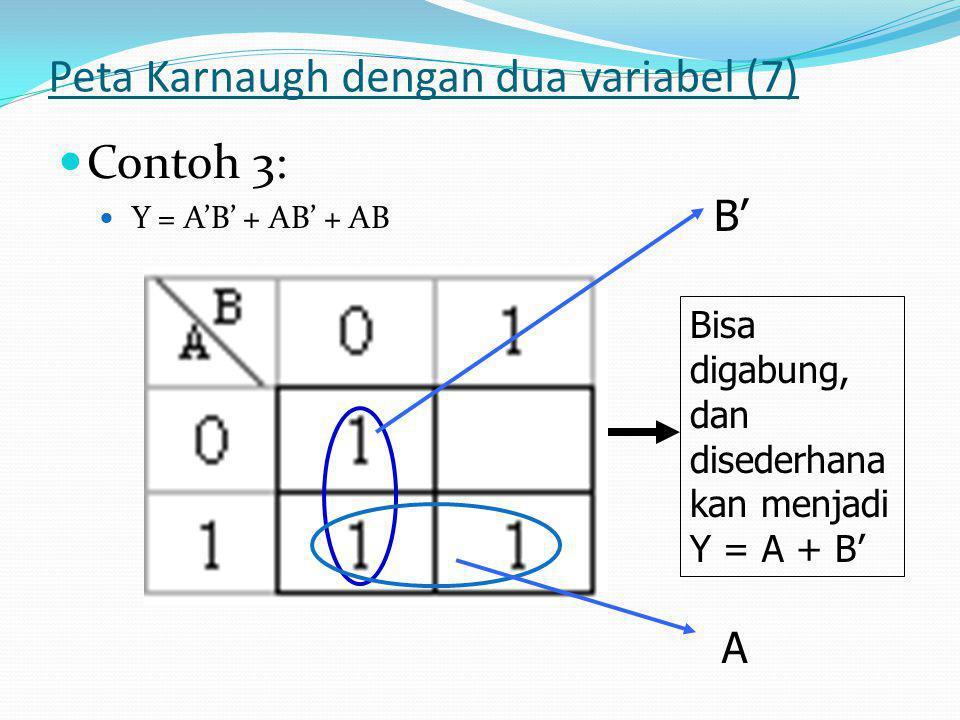 Peta Karnaugh dengan dua variabel (7)