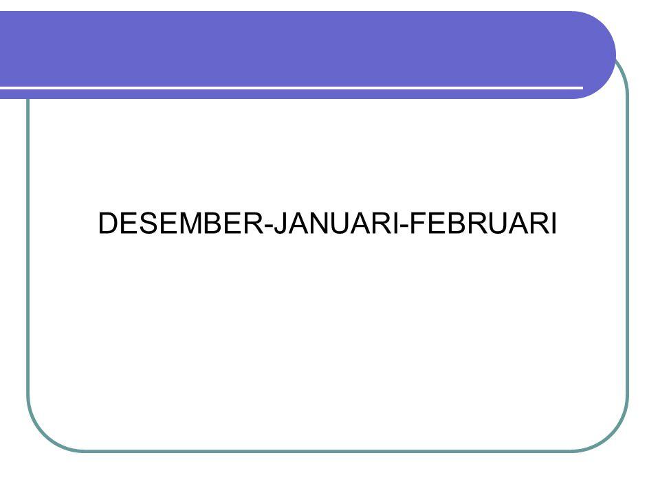 DESEMBER-JANUARI-FEBRUARI