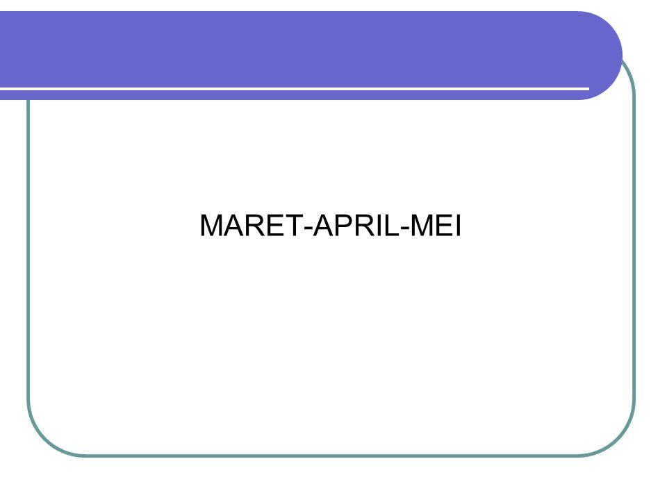 MARET-APRIL-MEI