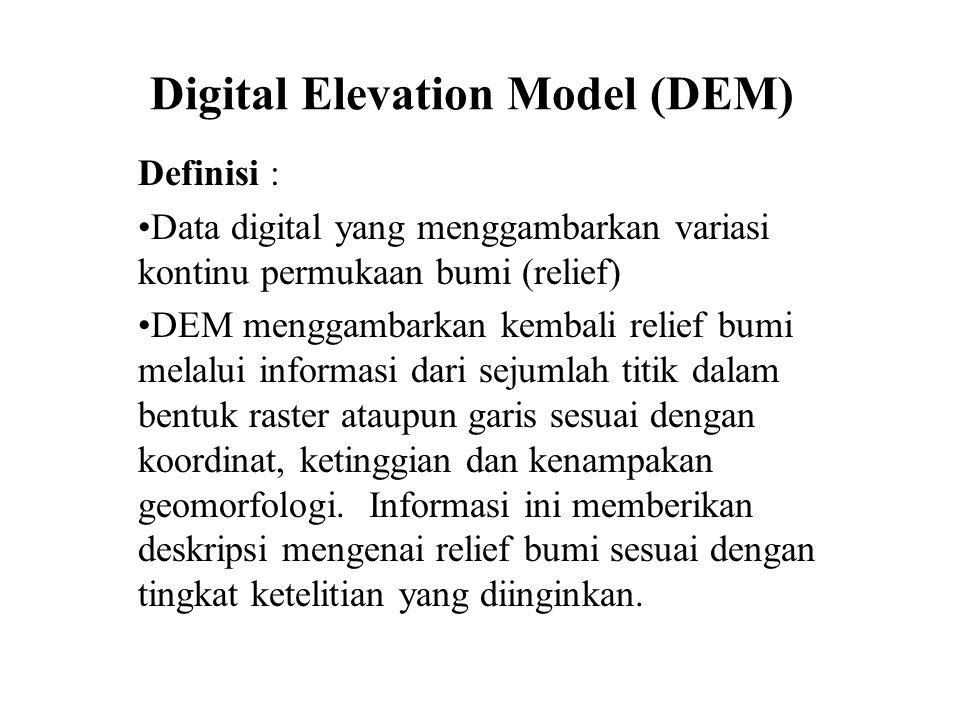 Digital Elevation Model (DEM)