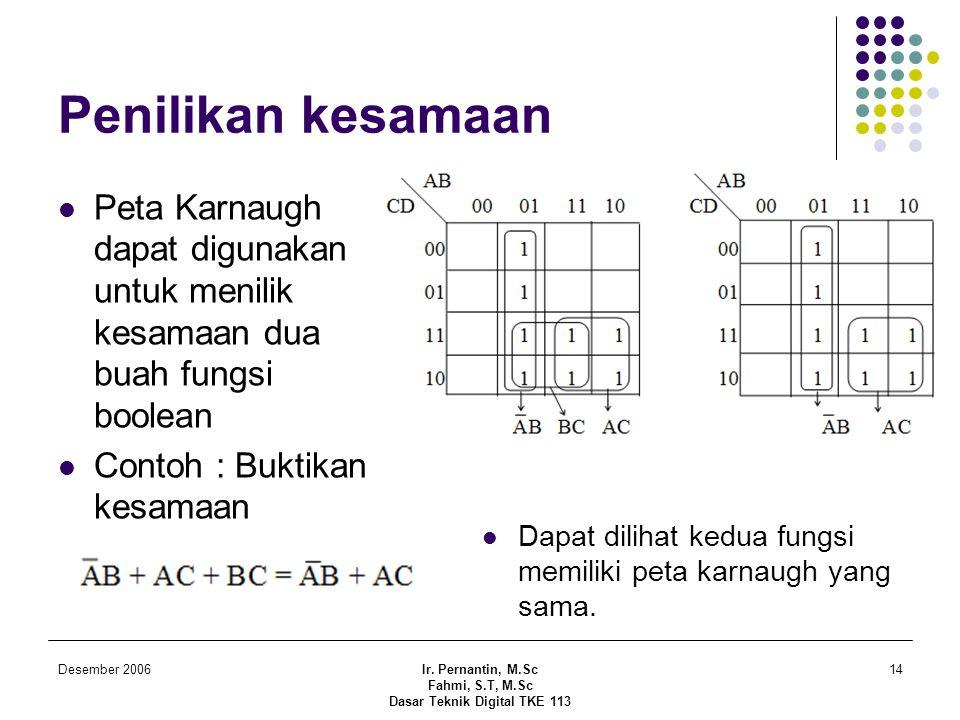 Dasar Teknik Digital TKE 113