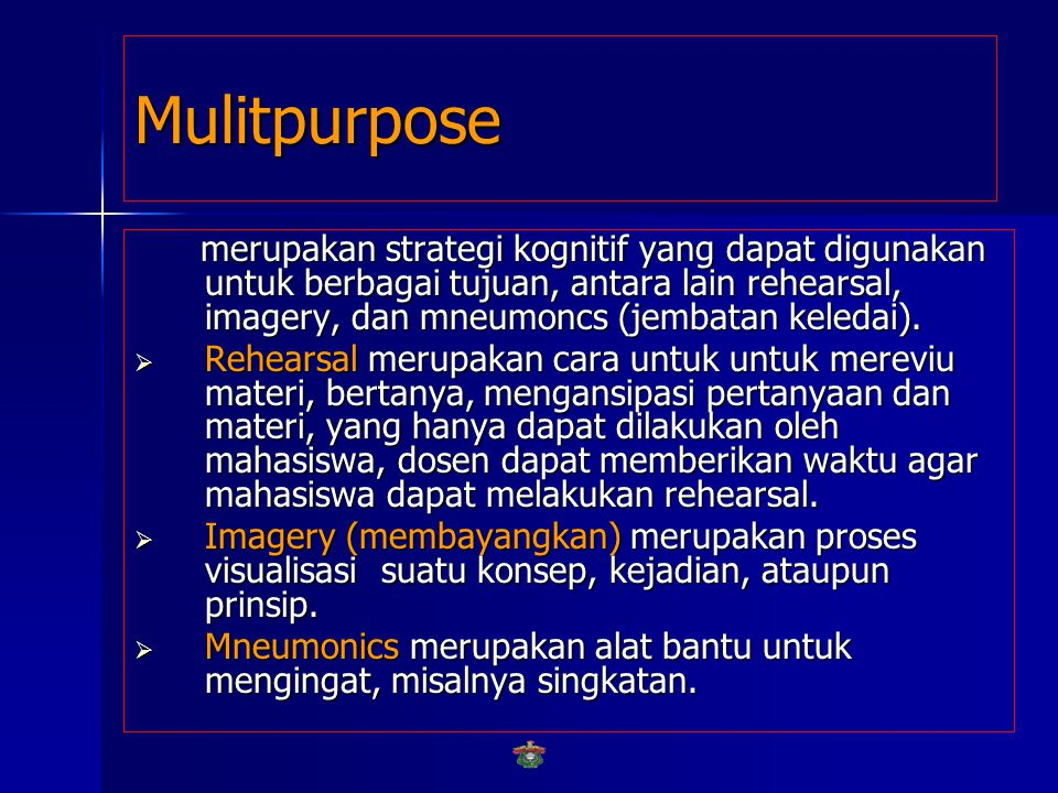 Mulitpurpose