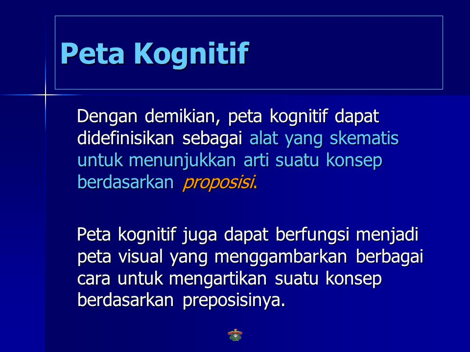 Peta Kognitif