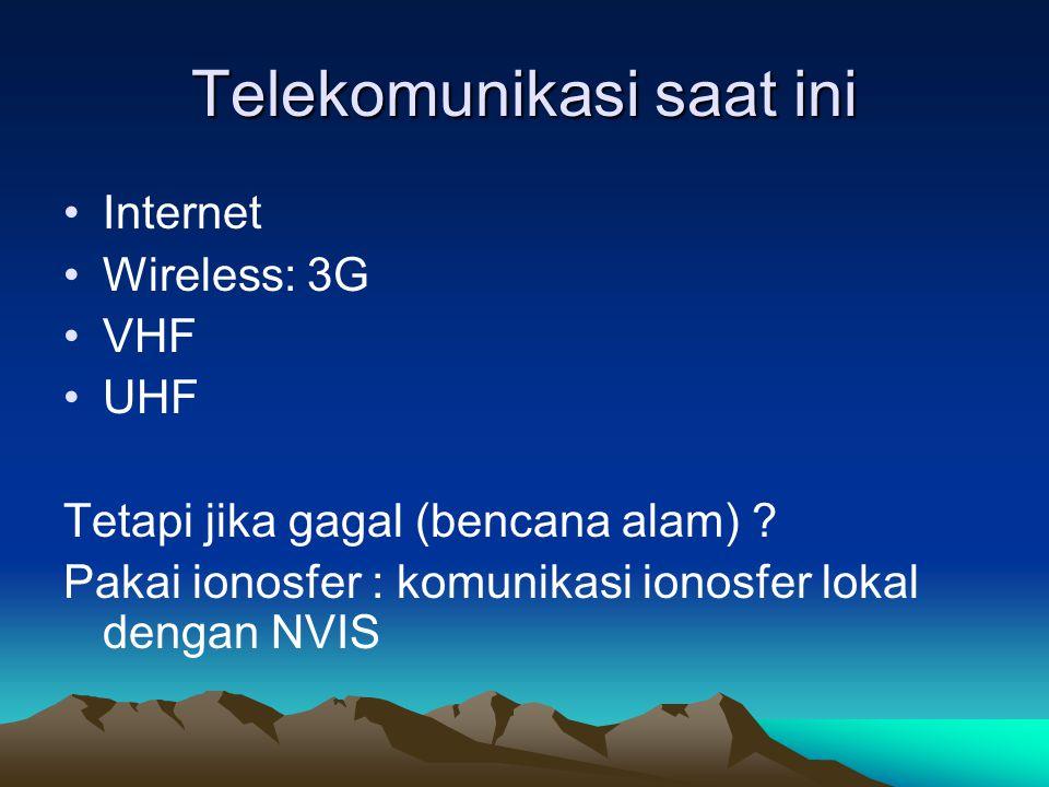 Telekomunikasi saat ini