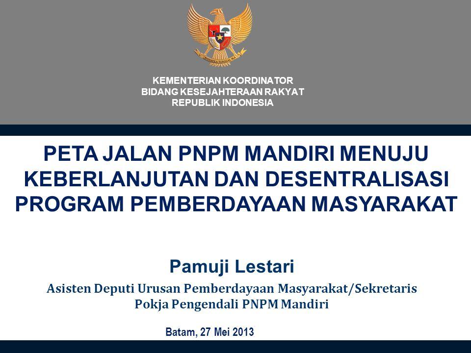KEMENTERIAN KOORDINATOR BIDANG KESEJAHTERAAN RAKYAT REPUBLIK INDONESIA