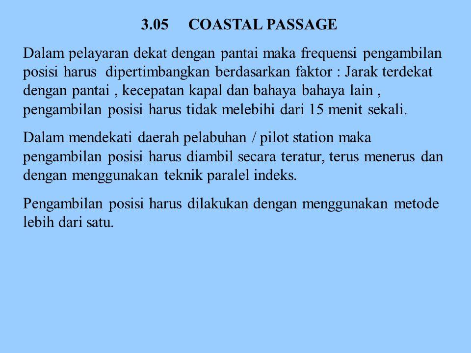 3.05 COASTAL PASSAGE