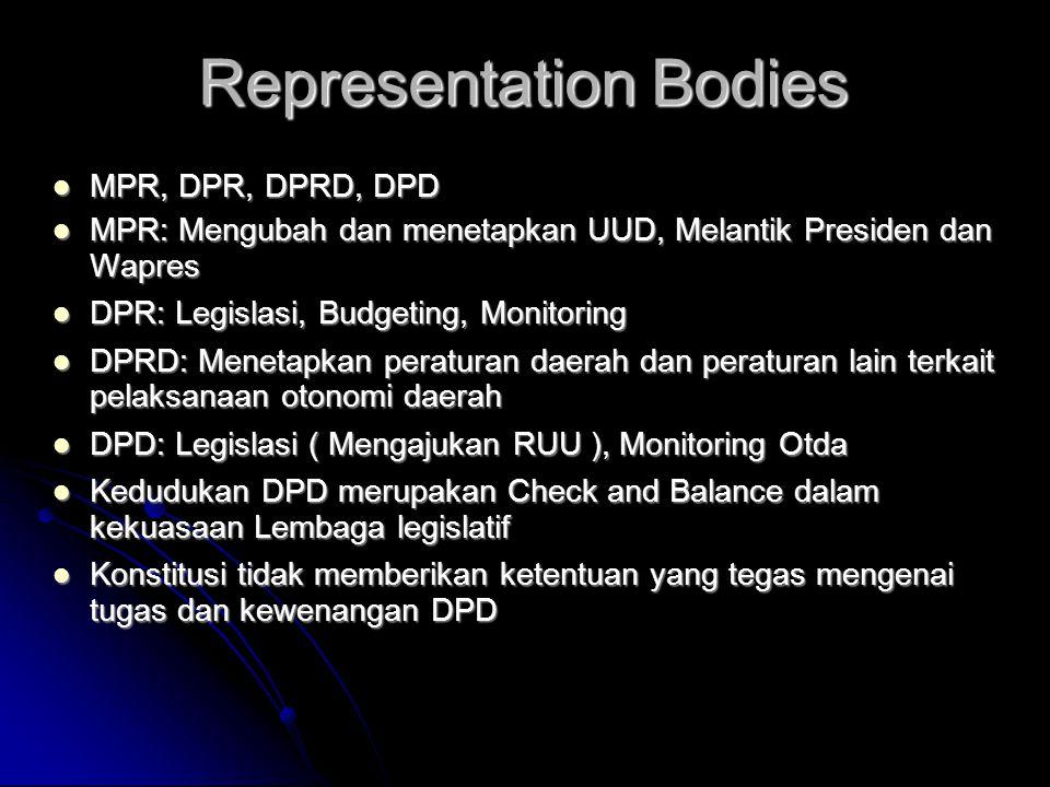 Representation Bodies