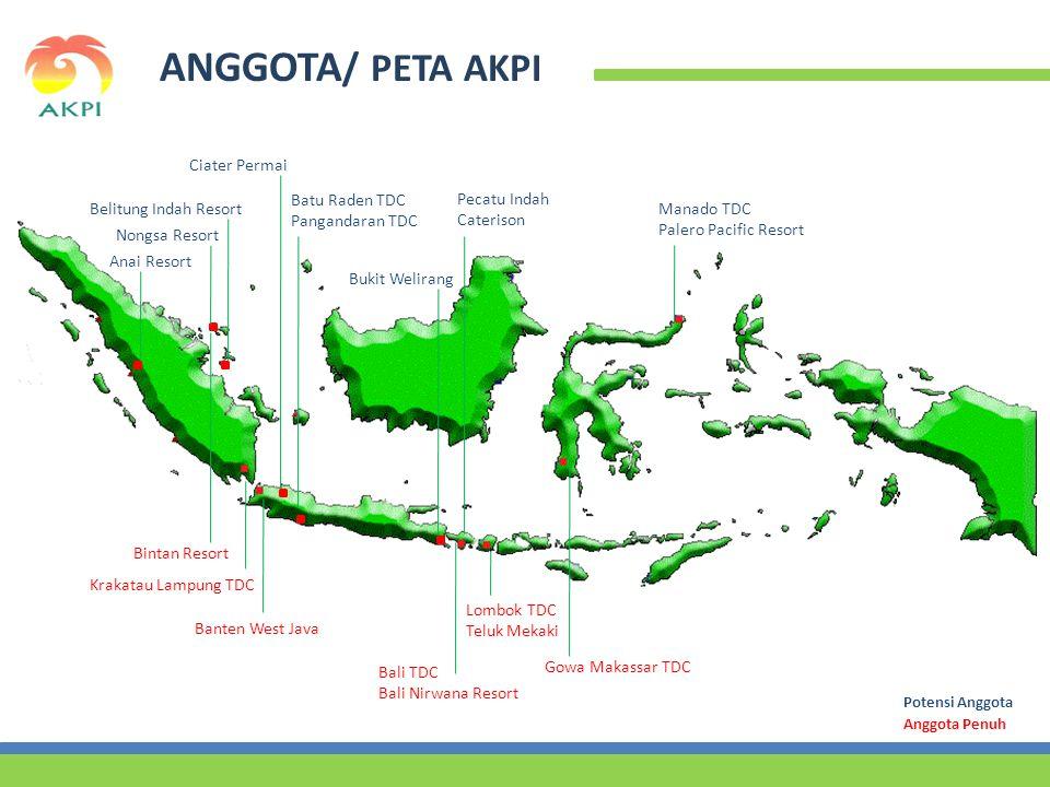 ANGGOTA/ PETA AKPI Ciater Permai Batu Raden TDC Pangandaran TDC