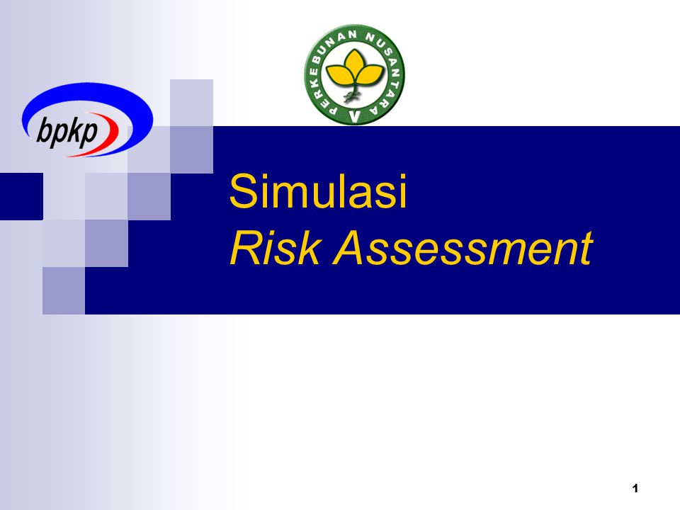 Simulasi Risk Assessment