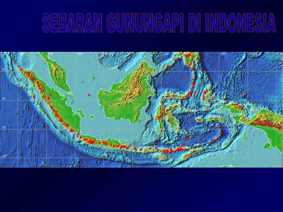SEBARAN GUNUNGAPI DI INDONESIA