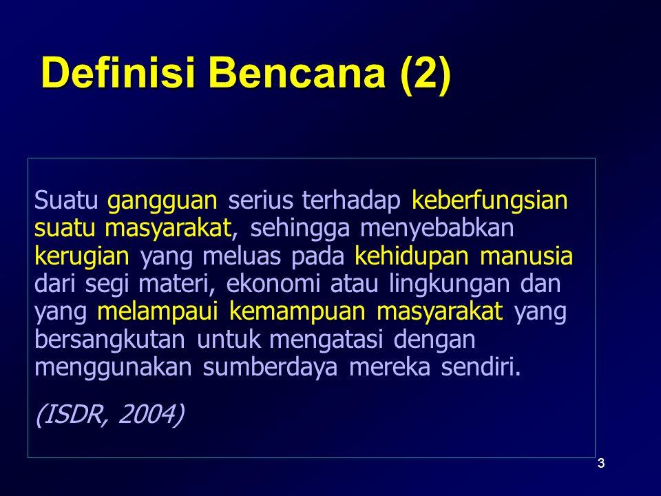 Definisi Bencana (2)