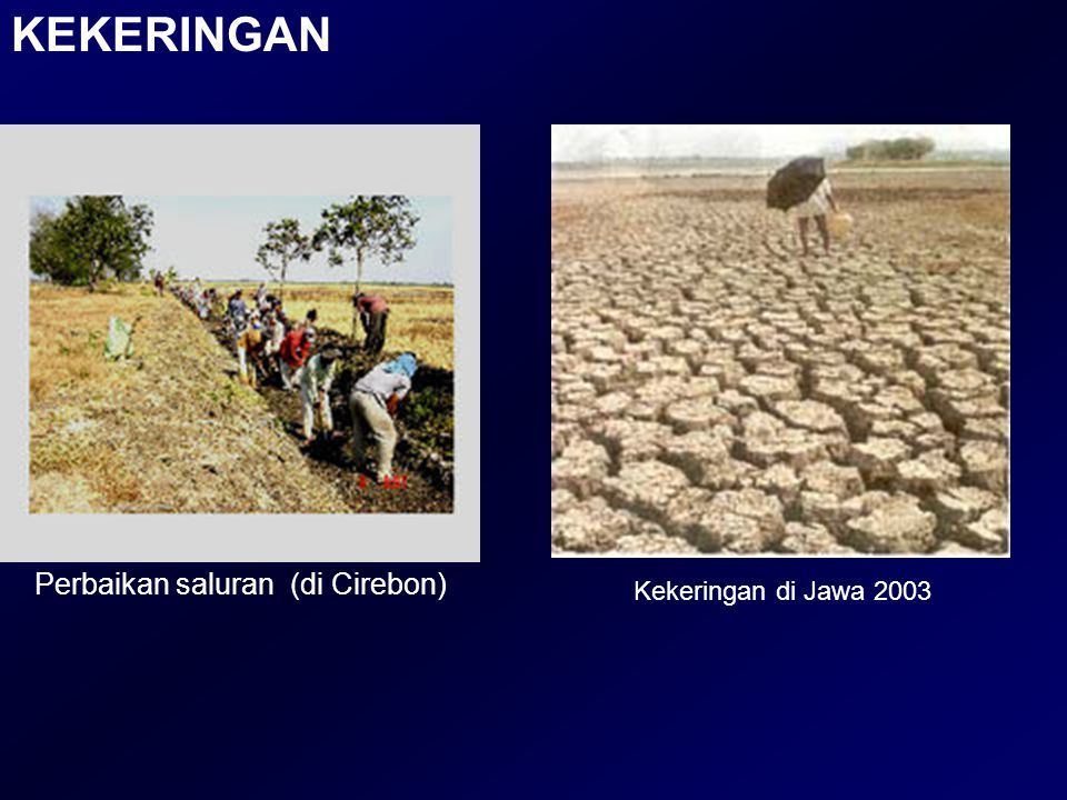 Perbaikan saluran (di Cirebon)