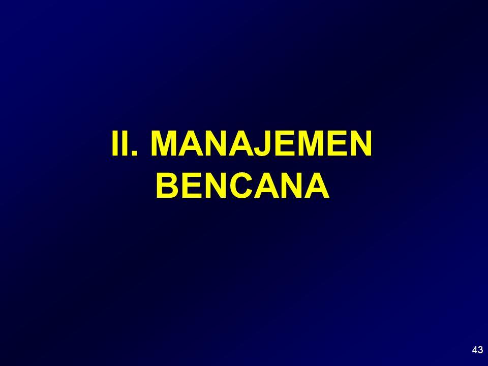 II. MANAJEMEN BENCANA 43